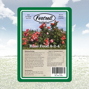 Fertrell Rose Food 4-2-4