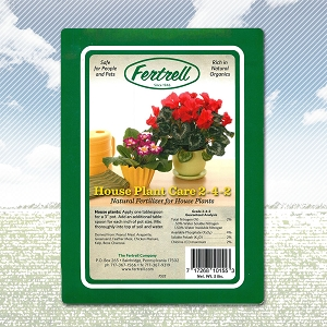 Fertrell House Plant<br>Care 2-4-2
