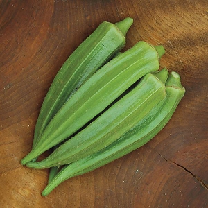 Clemson Spineless 80 Okra Seeds